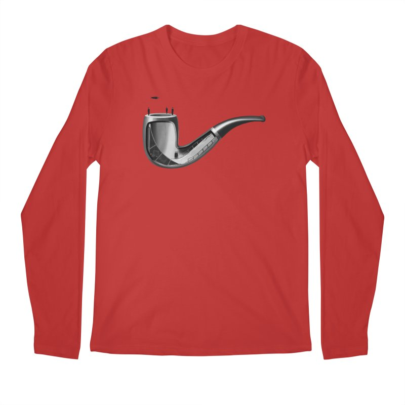 THIS IS NOT A HALFPIPE Men's Regular Longsleeve T-Shirt by RL76