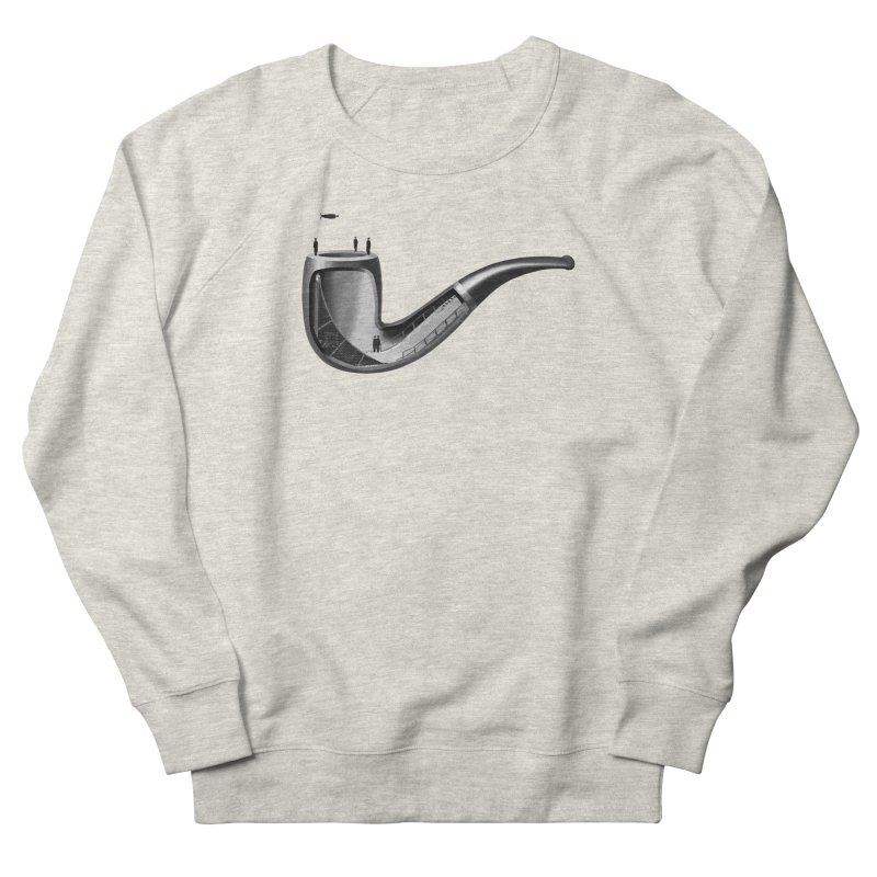 THIS IS NOT A HALFPIPE Women's French Terry Sweatshirt by RL76