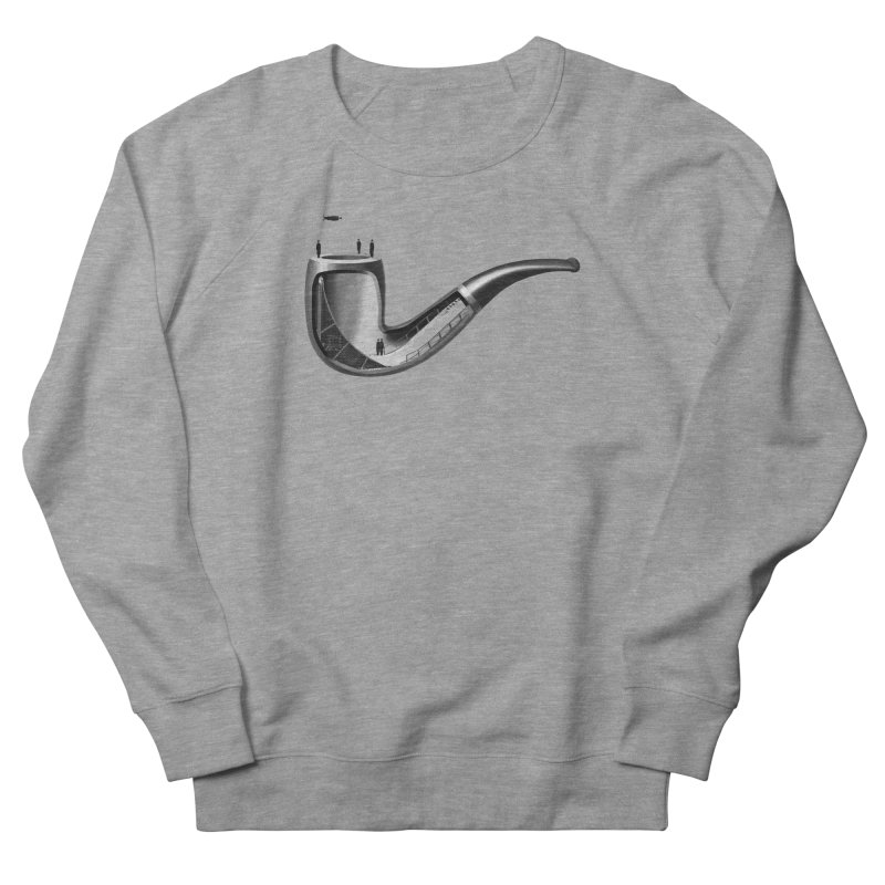 THIS IS NOT A HALFPIPE Men's French Terry Sweatshirt by RL76