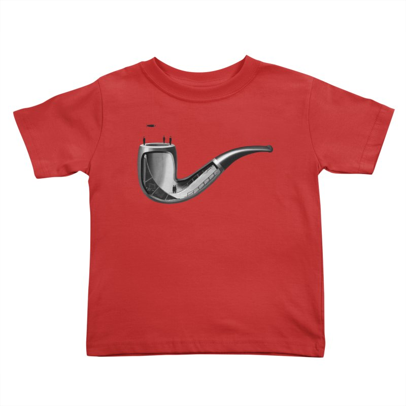 THIS IS NOT A HALFPIPE Kids Toddler T-Shirt by RL76