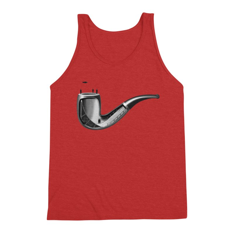 THIS IS NOT A HALFPIPE Men's Triblend Tank by RL76