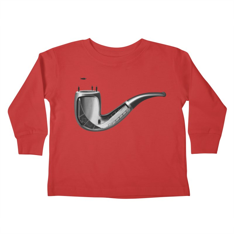 THIS IS NOT A HALFPIPE Kids Toddler Longsleeve T-Shirt by RL76