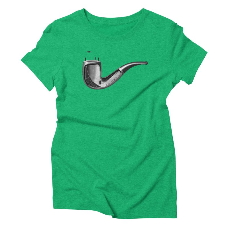 THIS IS NOT A HALFPIPE Women's Triblend T-Shirt by RL76