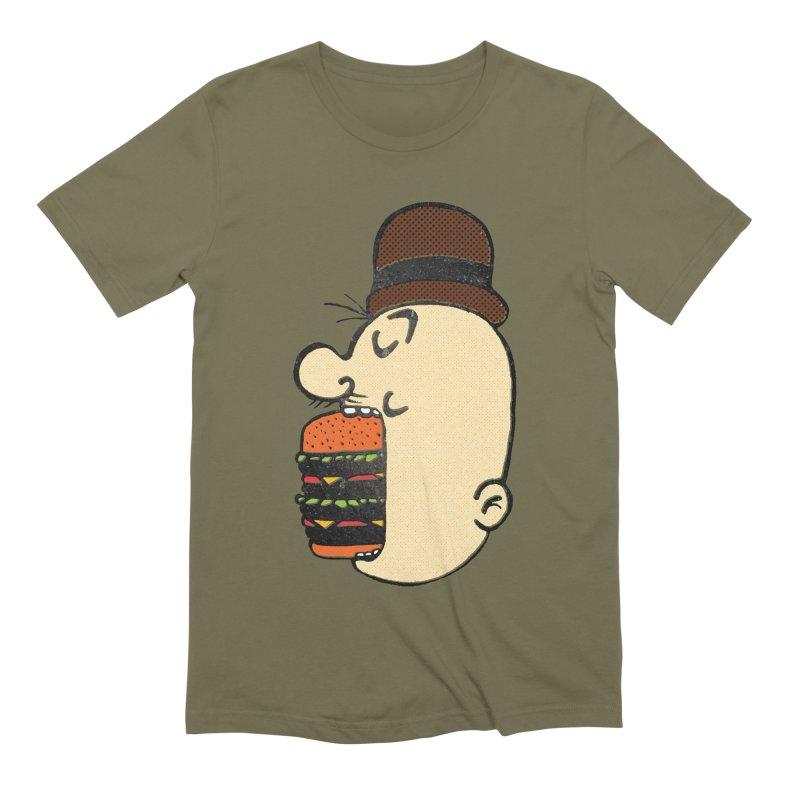 Say AHHHHHHHAMBURGER Men's Extra Soft T-Shirt by RL76