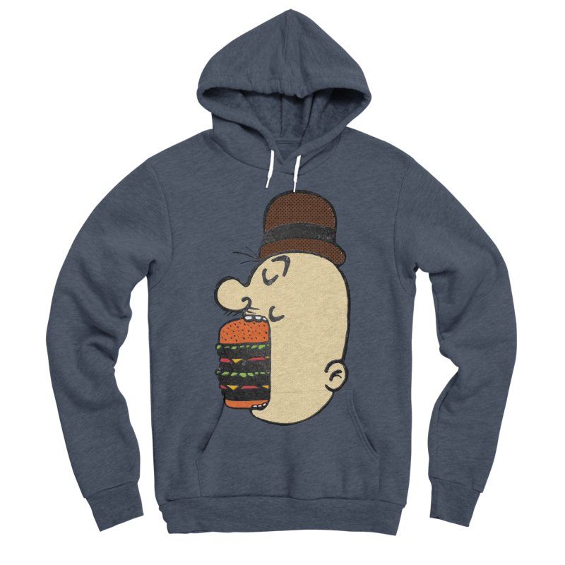 Say AHHHHHHHAMBURGER Men's Sponge Fleece Pullover Hoody by RL76
