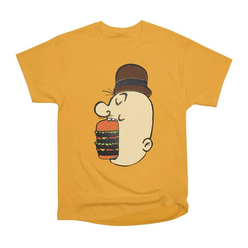 Say AHHHHHHHAMBURGER Men's Heavyweight T-Shirt by RL76