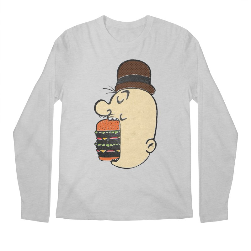 Say AHHHHHHHAMBURGER Men's Regular Longsleeve T-Shirt by RL76