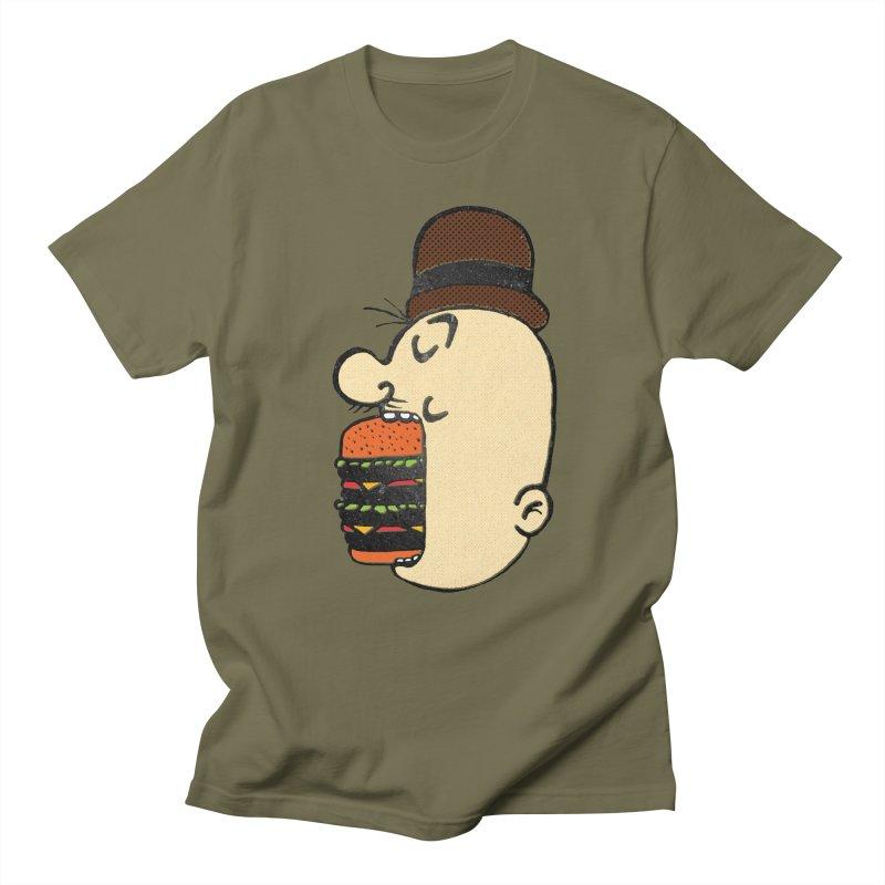 Say AHHHHHHHAMBURGER Men's Regular T-Shirt by RL76