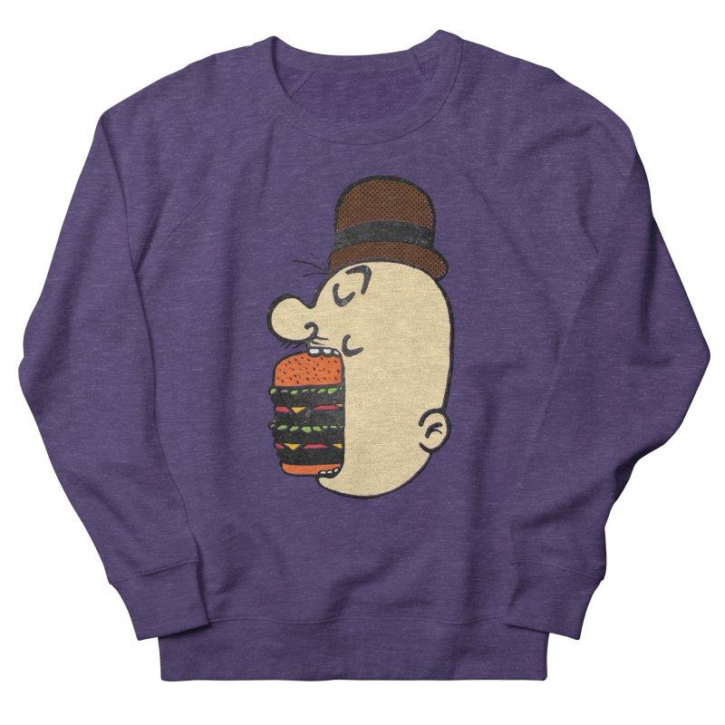 Say AHHHHHHHAMBURGER Men's French Terry Sweatshirt by RL76