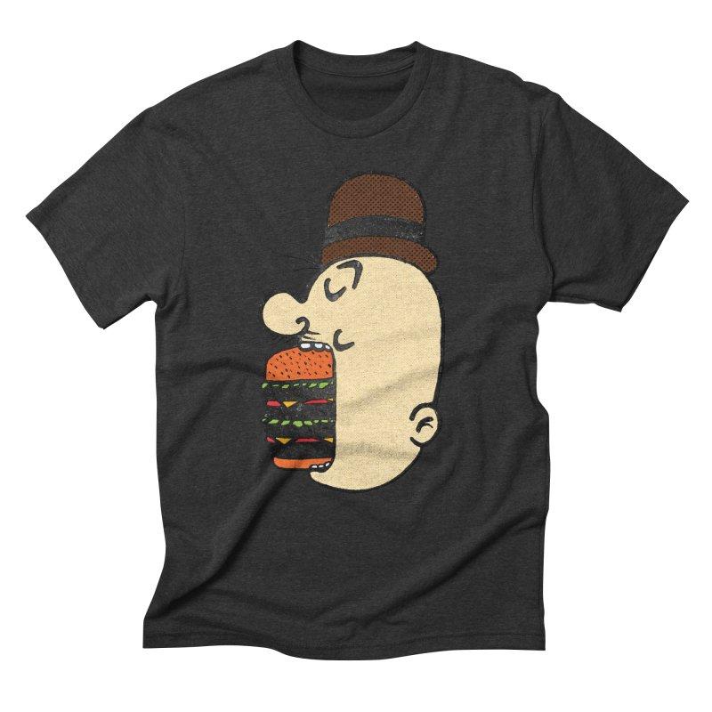 Say AHHHHHHHAMBURGER Men's Triblend T-Shirt by RL76