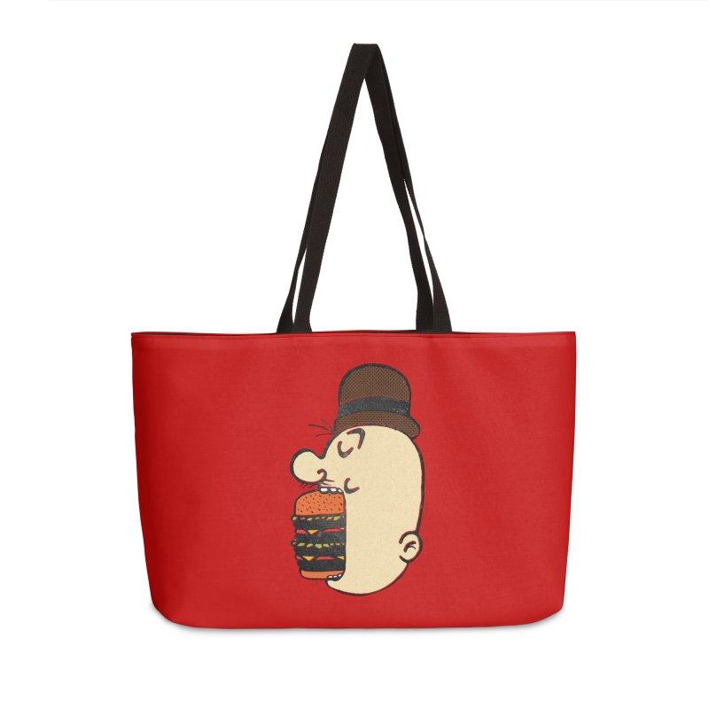 Say AHHHHHHHAMBURGER Accessories Weekender Bag Bag by RL76