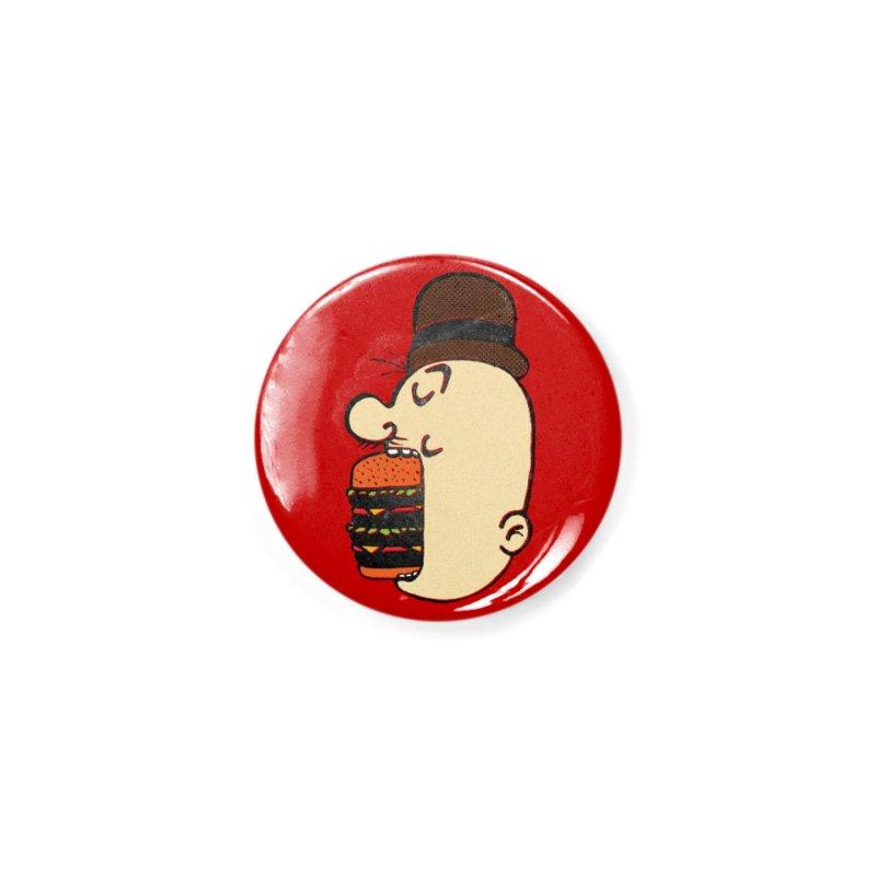 Say AHHHHHHHAMBURGER Accessories Button by RL76