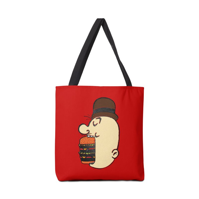 Say AHHHHHHHAMBURGER Accessories Tote Bag Bag by RL76