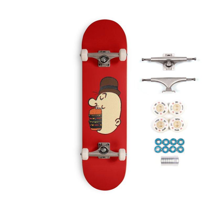 Say AHHHHHHHAMBURGER Accessories Complete - Premium Skateboard by RL76