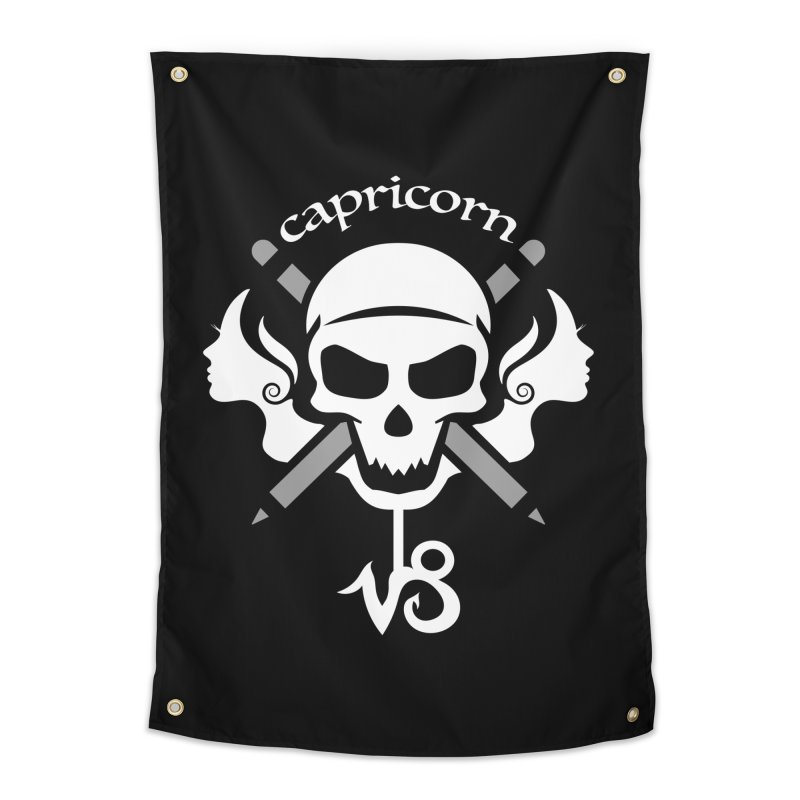Capricorn Home Tapestry by 5th5ea5on