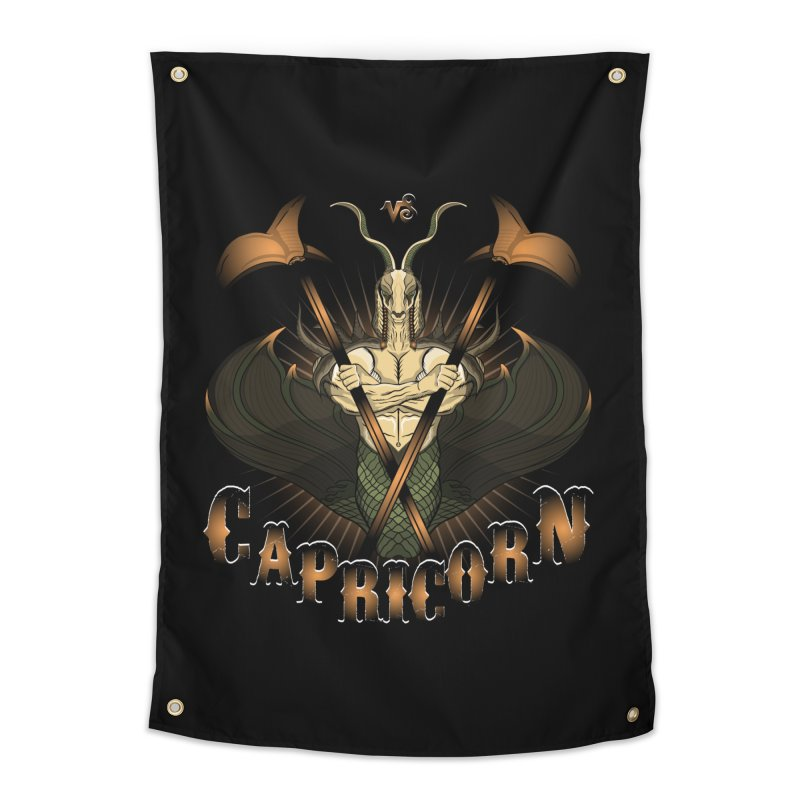 The Goat - Capricorn Spirit Home by rlopezdesigns