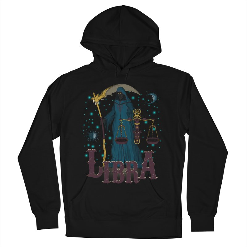 The Scale - Libra Spirit Women's French Terry Pullover Hoody by R Lopez Designs