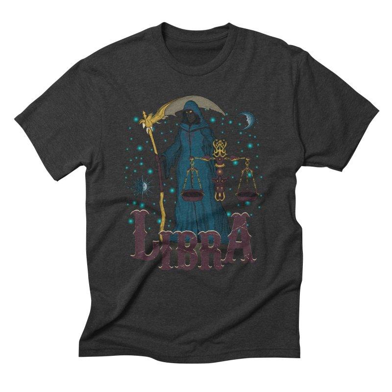 The Scale - Libra Spirit Men's Triblend T-Shirt by R Lopez Designs