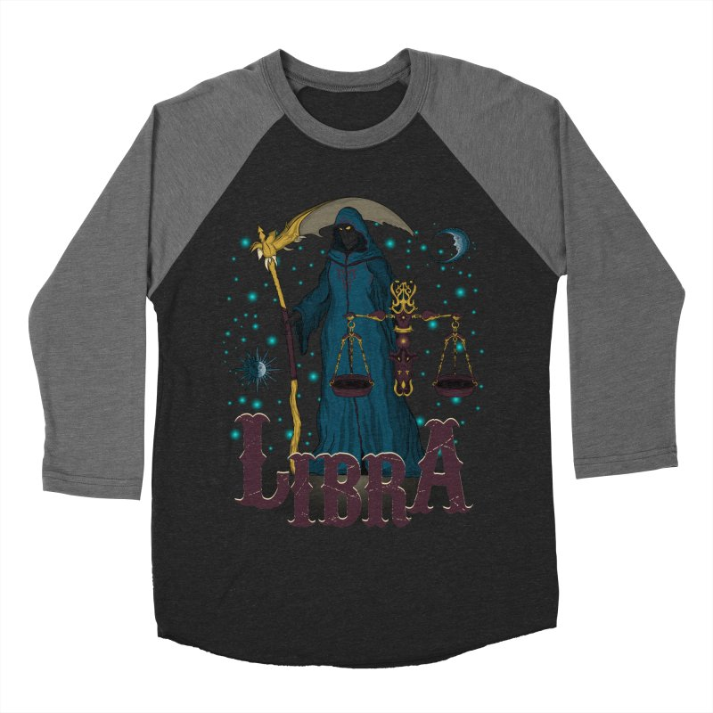 The Scale - Libra Spirit Women's Baseball Triblend Longsleeve T-Shirt by R Lopez Designs