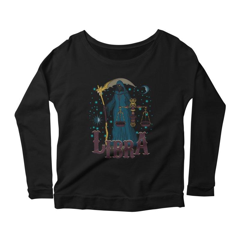 The Scale - Libra Spirit Women's Scoop Neck Longsleeve T-Shirt by R Lopez Designs