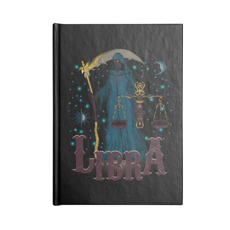 The Scale - Libra Spirit Accessories Notebook by R Lopez Designs