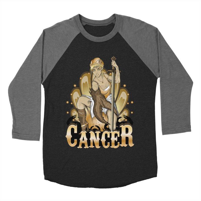 The Crab - Cancer Spirit Women's Baseball Triblend T-Shirt by R Lopez Designs