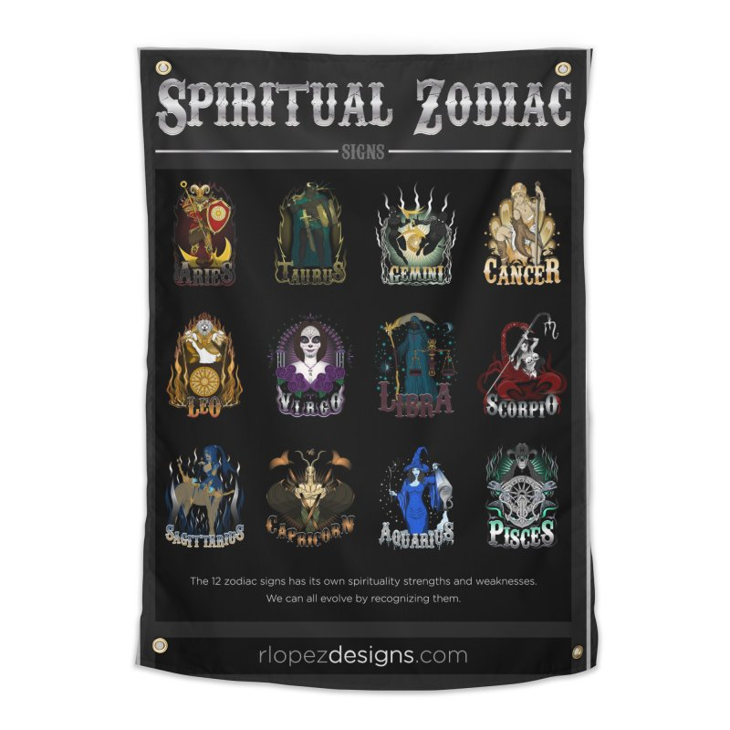Spiritual Zodiac Signs Home by rlopezdesigns