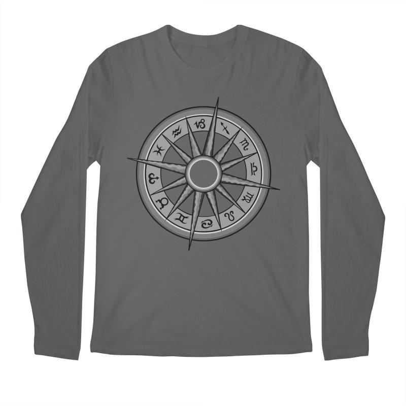 Astrology Zodiac Signs Men's Longsleeve T-Shirt by R Lopez Designs