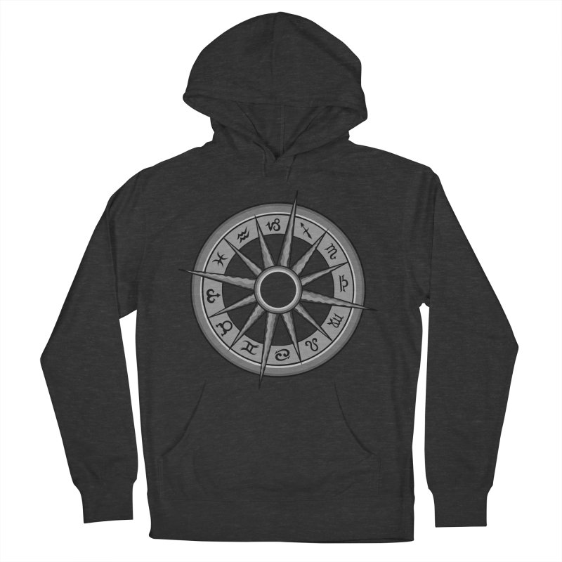Astrology Zodiac Signs Men's French Terry Pullover Hoody by R Lopez Designs