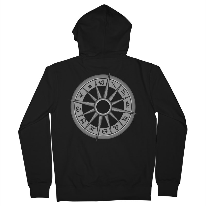 Astrology Zodiac Signs Men's French Terry Zip-Up Hoody by R Lopez Designs