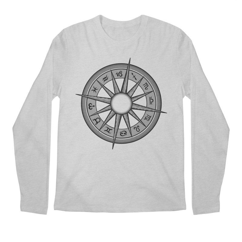 Astrology Zodiac Signs Men's Regular Longsleeve T-Shirt by R Lopez Designs