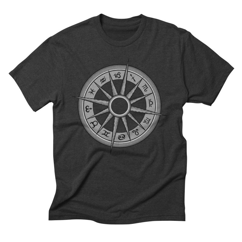 Astrology Zodiac Signs Men's Triblend T-Shirt by R Lopez Designs