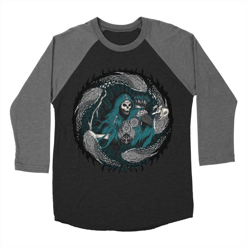 Underworld Archer of Death Men's Baseball Triblend T-Shirt by R Lopez Designs