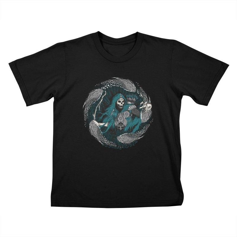 Underworld Archer of Death Kids T-shirt by R Lopez Designs