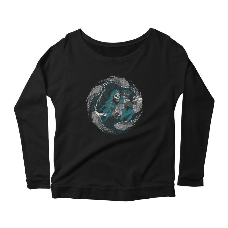 Underworld Archer of Death Women's Scoop Neck Longsleeve T-Shirt by R Lopez Designs