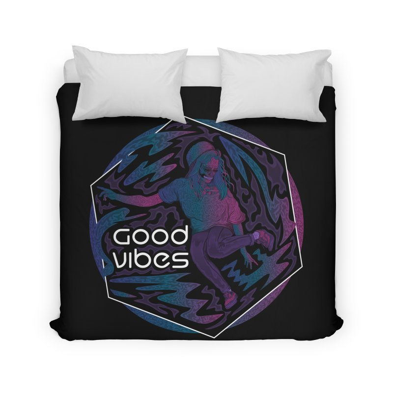 Good Vibes Skelegirl Home by rlopezdesigns