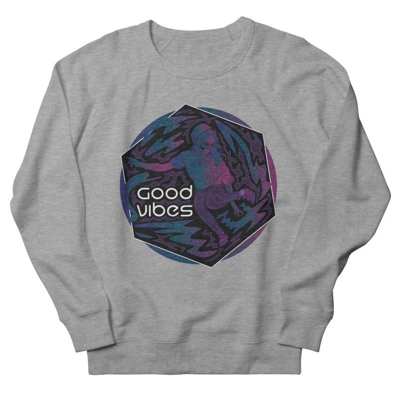Good Vibes Skelegirl Women's Sweatshirts by rlopezdesigns