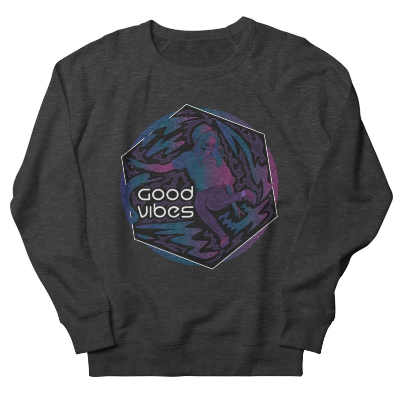 Good Vibes Skelegirl Men's by rlopezdesigns