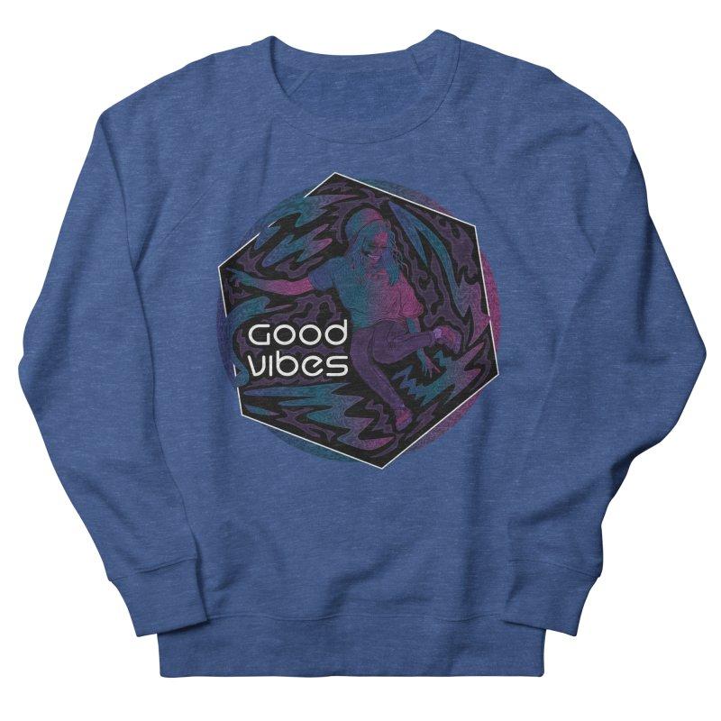 Good Vibes Skelegirl Women's Sweatshirt by R Lopez Designs