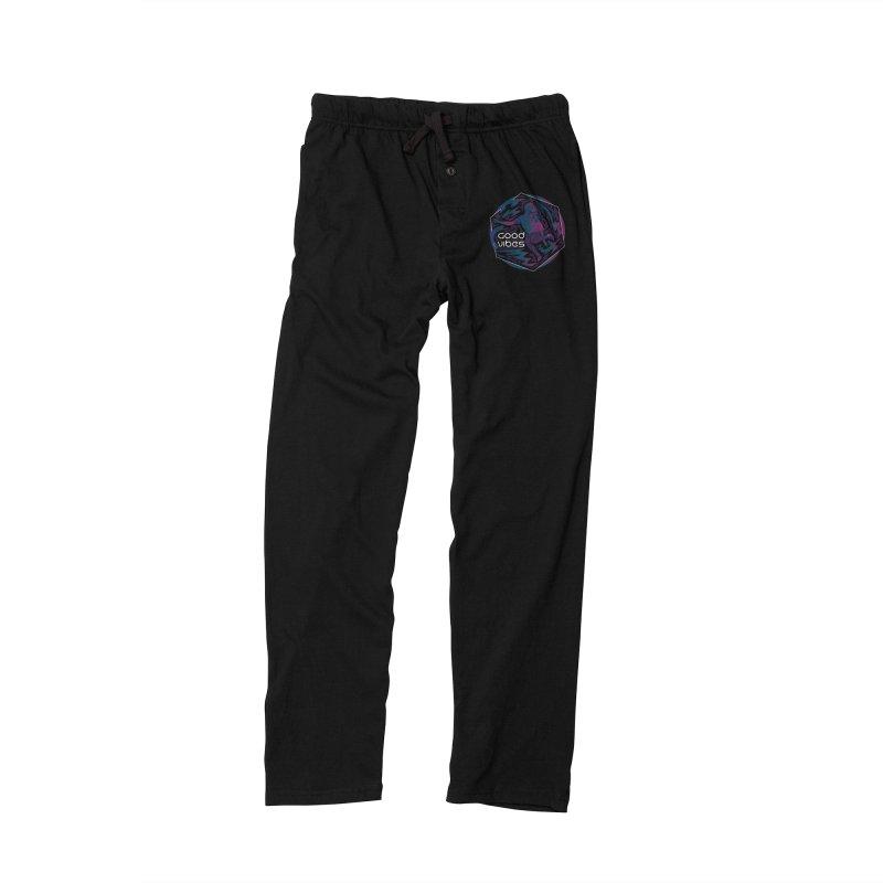 Good Vibes Skelegirl Men's Lounge Pants by R Lopez Designs