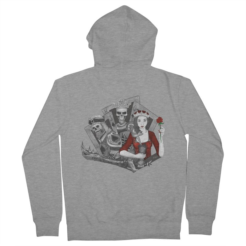 Royalty Love Women's Zip-Up Hoodies by rlopezdesigns