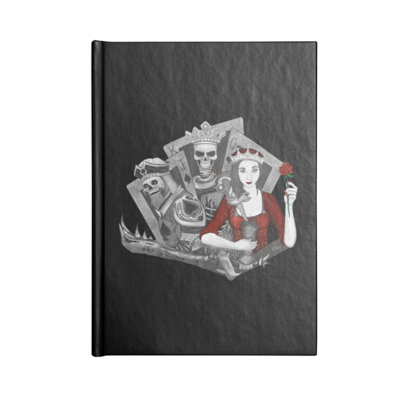 Royalty Love Accessories Notebook by R Lopez Designs