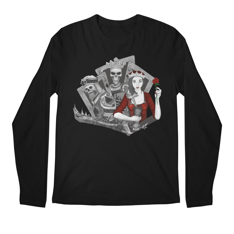 Royalty Love Men's Longsleeve T-Shirt by R Lopez Designs
