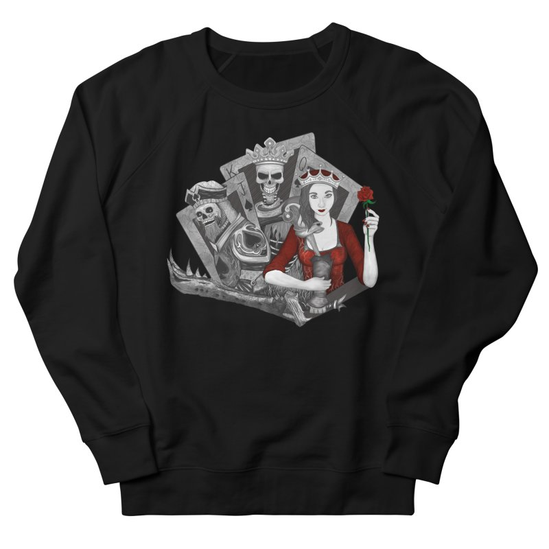 Royalty Love Men's French Terry Sweatshirt by R Lopez Designs