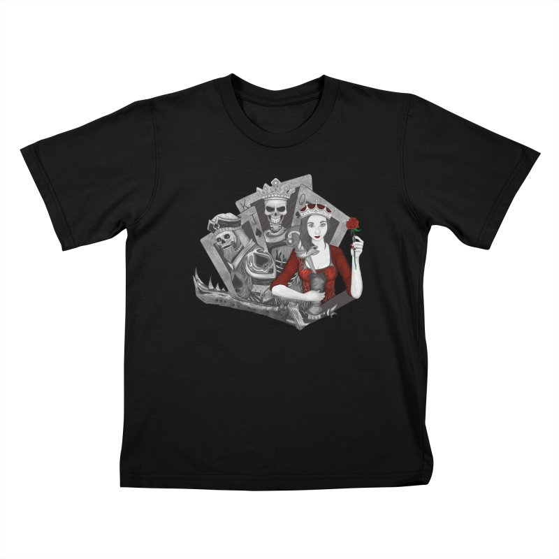 Royalty Love Kids T-shirt by R Lopez Designs