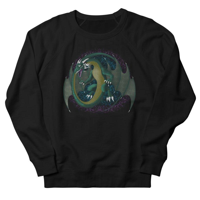 Electric Portal Dragon Men's Sweatshirt by R Lopez Designs