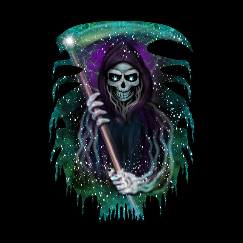 Galaxy Grim Reaper  Women's T-Shirt by R Lopez Designs