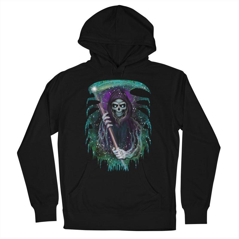 Galaxy Grim Reaper  Men's Pullover Hoody by R Lopez Designs