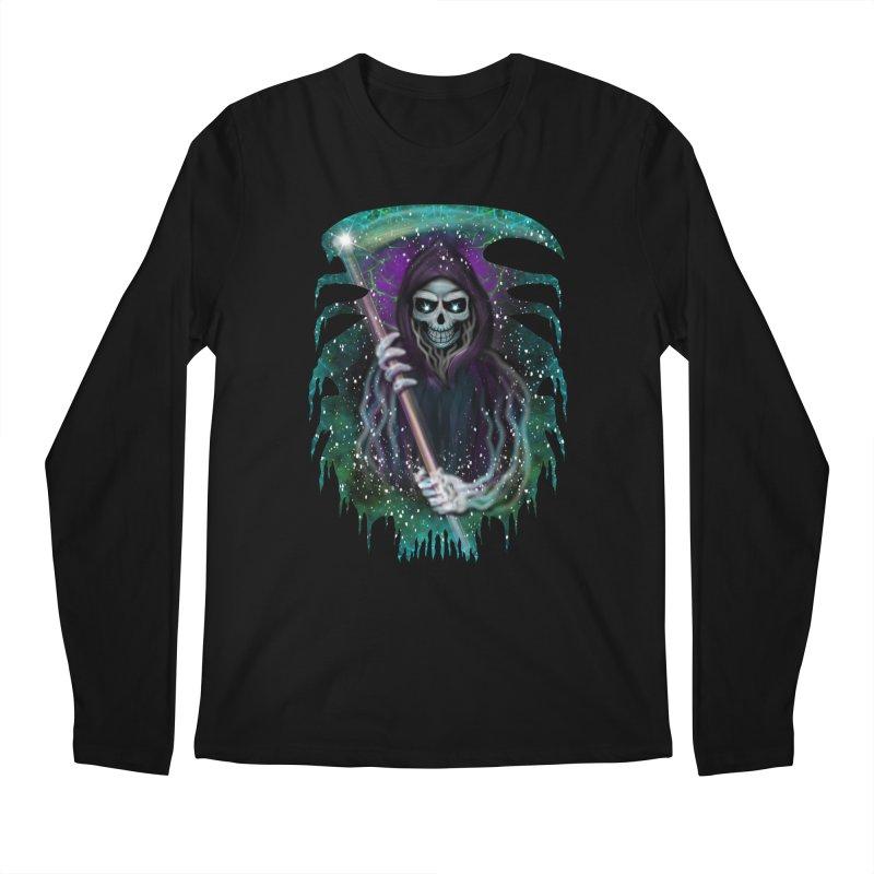 Galaxy Grim Reaper  Men's Longsleeve T-Shirt by R Lopez Designs