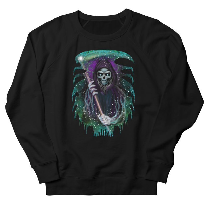 Galaxy Grim Reaper  Men's Sweatshirt by R Lopez Designs